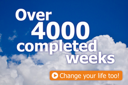 Over 4000 compleded weeks